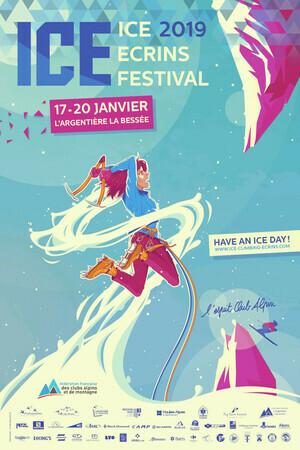 2019 Affiche Iceclimbing Sans Bordures
